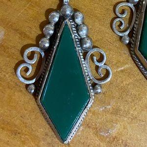 Vintage Mexican Silver Set